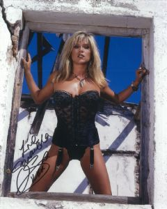 Samantha Fox (Model, Singer) - Genuine Signed Autograph 8304